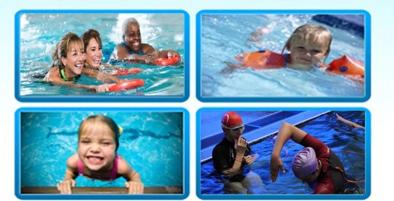 Swimming Lessons at PSLC