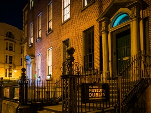 entrance to little museum of dublin
