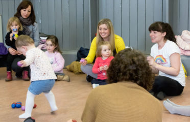 kids class at rainbow music for kids dublin