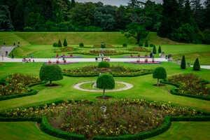 Powerscourt gardens in Co Wicklow