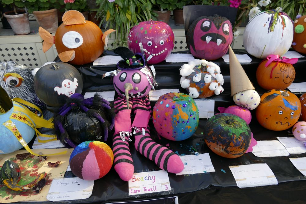 Decorated Pumpkin Competition 2019
