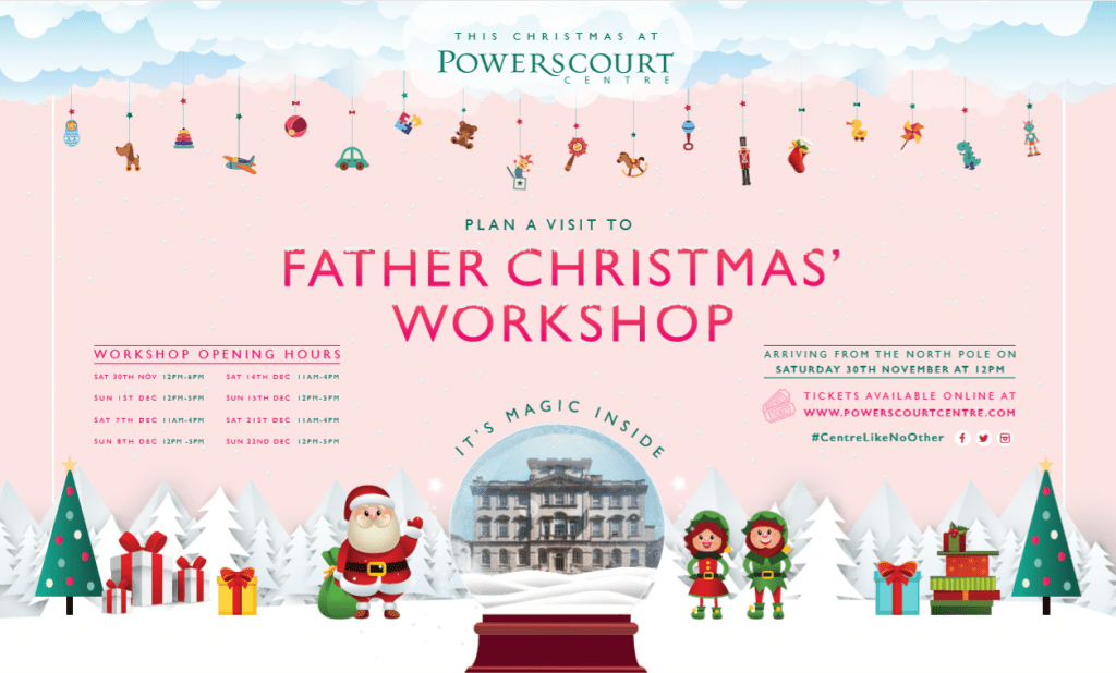 Father Christmas Workshop Graphic